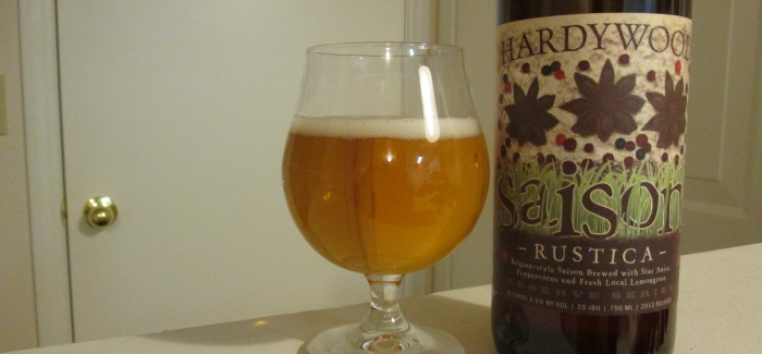 Hardywood Park Craft Brewery- Saison Rustica