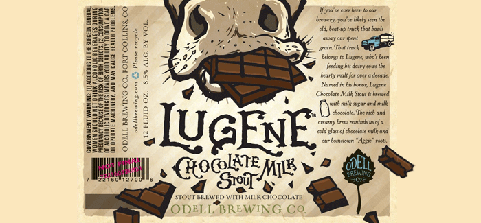 Odell Brewing | Lugene Chocolate Milk Stout