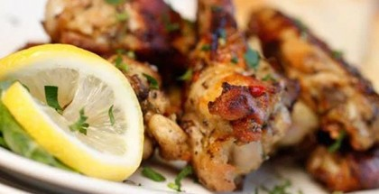 Limoncello-Marinated Chicken Wings