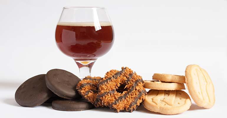 girl scout cookie beer