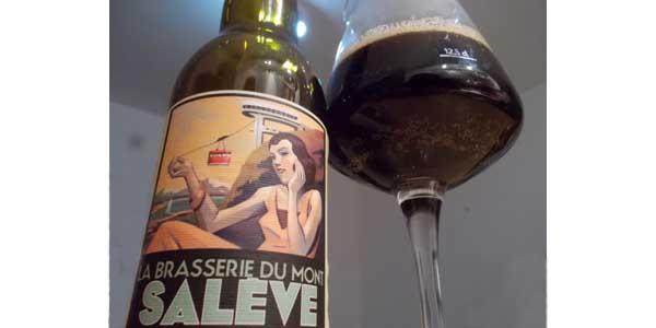 Mosaic Black Bitter — La Brasserie du Mont Salève