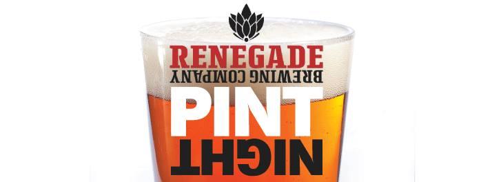 renegade pint night at parry's