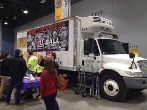 Ei8ht Ball Brewery Truck