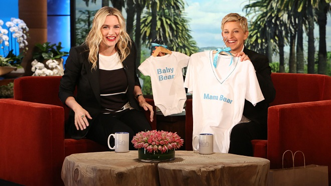 Kate Winslet on Ellen