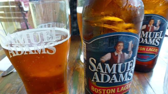 USA - New York City - Sam Adams Bier