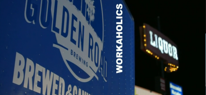 "Golden Road Brewing on ""Workaholics"""