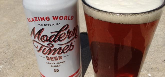 Modern Times Beer| Blazing World