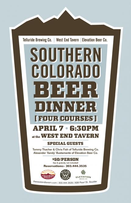 SoCo Beer Dinner - cbc 2014