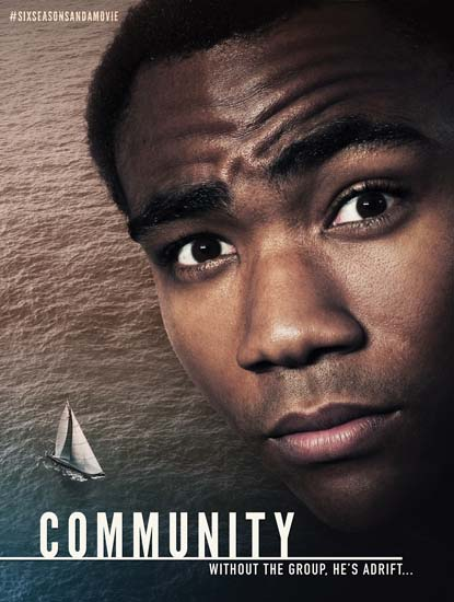 An actual poster Sony just released to promote #SixSeasonsAndAMovie