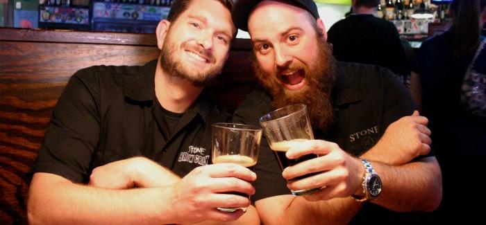 Spröcketbier creators, Rick and Robbie