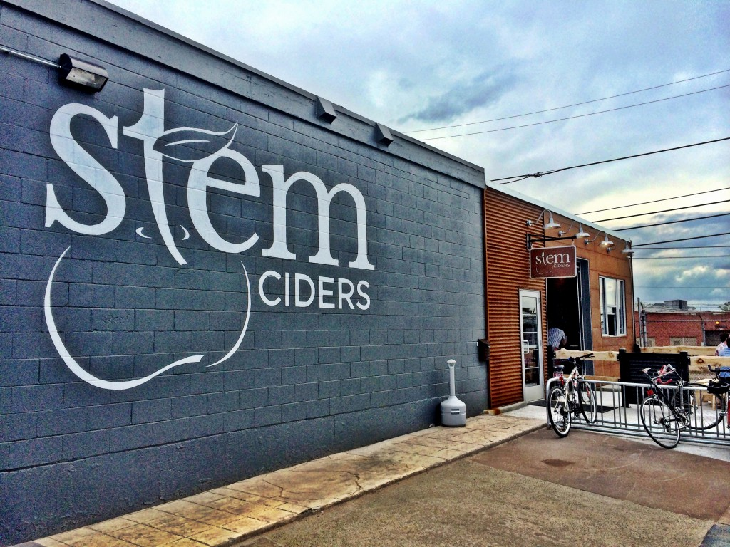 stem ciders - front view