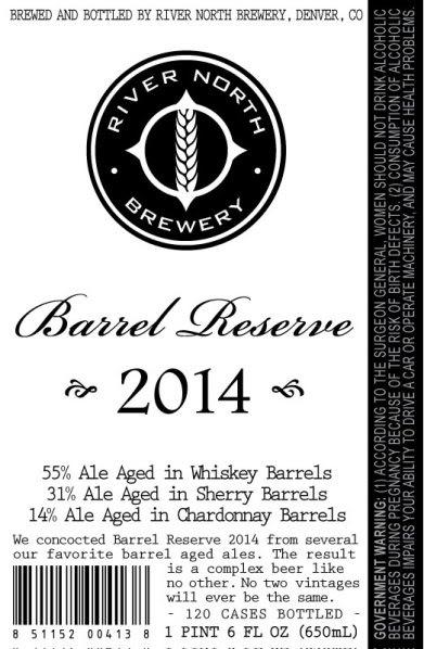 barrel reserve 2014