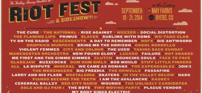 Riot Fest Denver Ticket Giveaway