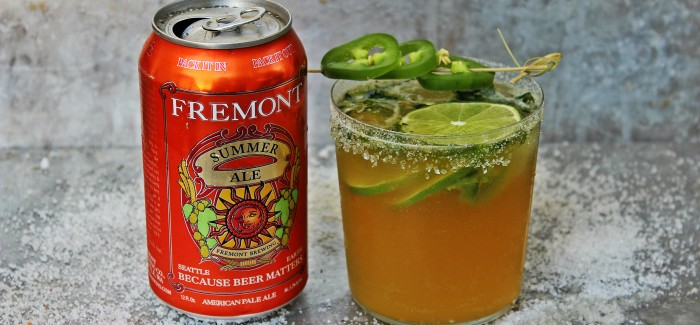 Beer Cocktails | Spicy Summer Ale Margarita