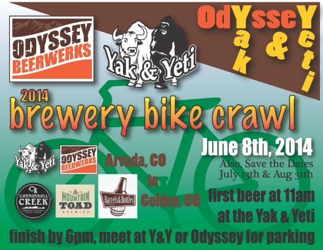 brewery bike crawl - june 8 - dbb
