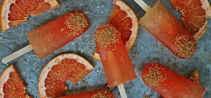 World Cup Grapefruit Caipirinha Ale Popsicles