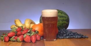 fruit-infused beer