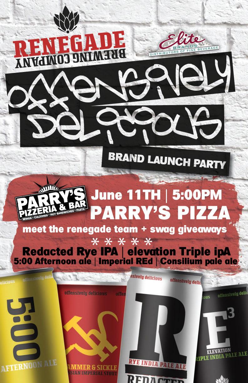 parry's pizza vs renegade brewing - dbb - 06-11-14