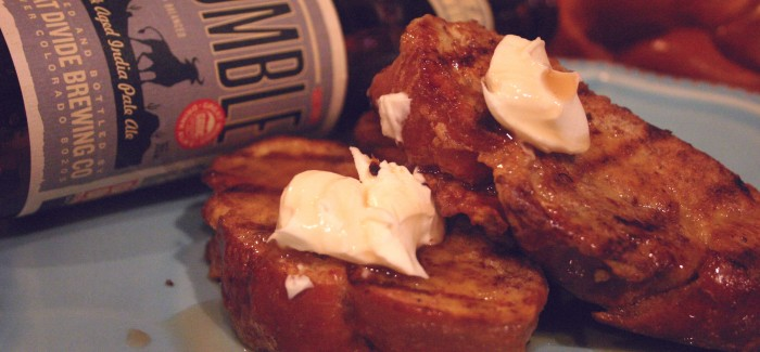 Cooking with Beer | Grilled French Toast with Rumble Syrup