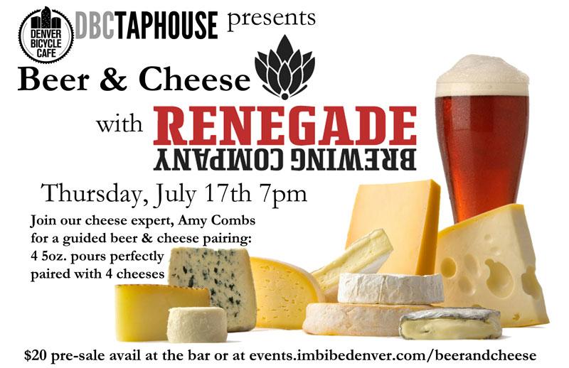 Renegade & Denver Bicycle Cafe - beer & cheese - dbb - 07-17-14