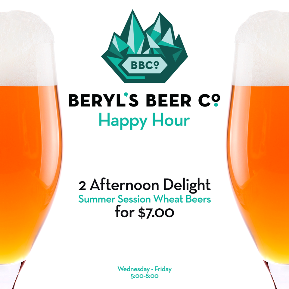 beryl's beer co - happy hour - dbb - 07-30-14
