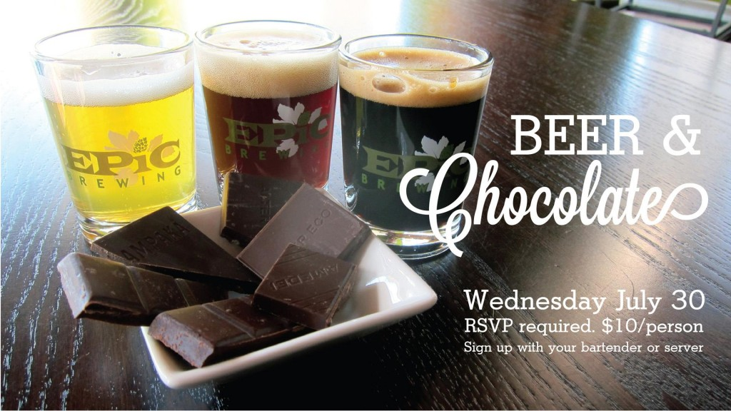 epic beer and chocolate pairing - dbb - 07-30-14