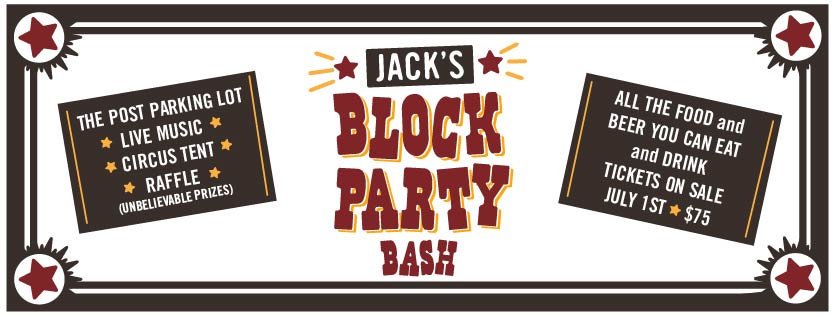jack's block party - post brewing - dbb - 08-03-14