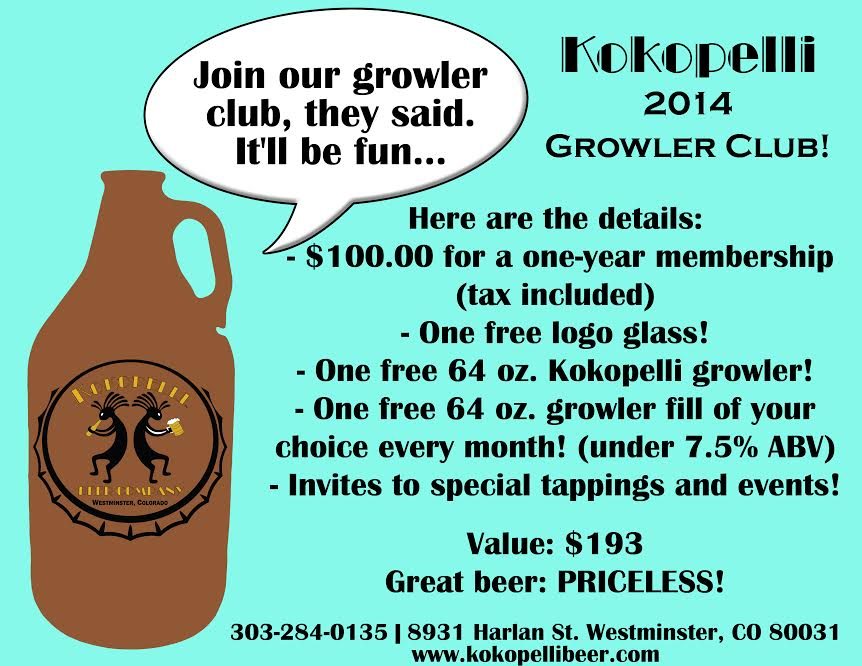 kokopellie growler club - dbb - 07-30-14
