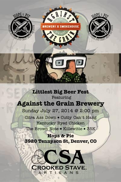 little big beer fest - against the grain - dbb - 07-23-14