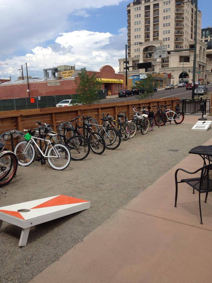 lowdown brewery - bike parking - dbb 07-08 - 07-15