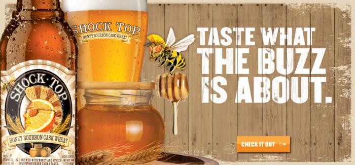 Shock Top Brewing Co | Honey Bourbon Cask Wheat
