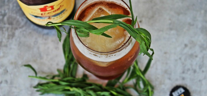 Beer Cocktails | Summer Bourbon Refresher