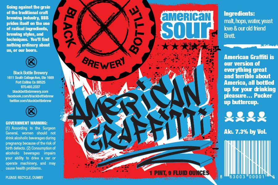black bottle brewery - american graffiti - dbb - 08-09-14