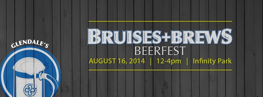 bruise + brews - glendale beerfest 2014 - dbb - 08-16-14