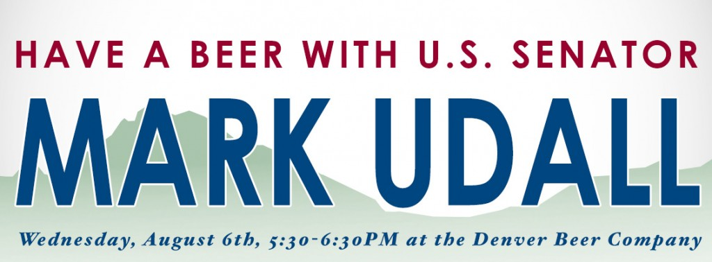 dbc - mark udall  - have a beer with mark - 08-06-14