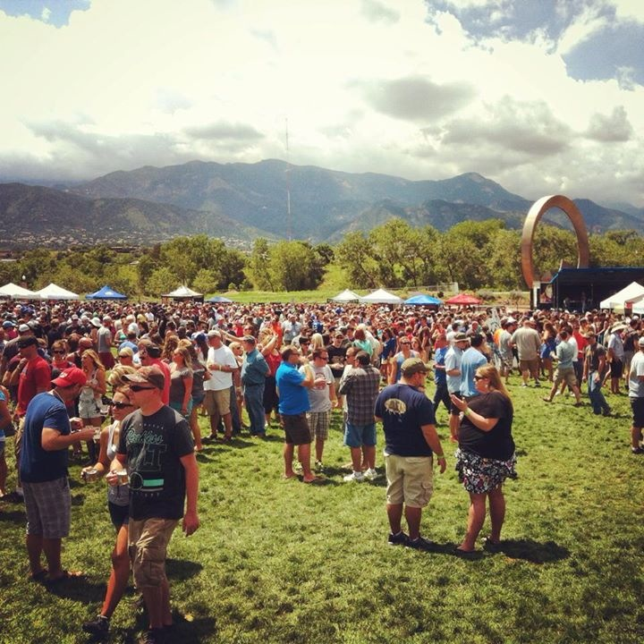 gorgeous weather - springs beer fest 2014 - dbb
