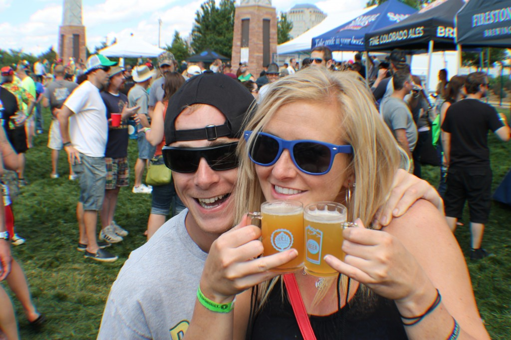 patrons imbibe some more -  - springs beer fest 2014 - dbb