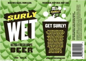 Surly WET Label