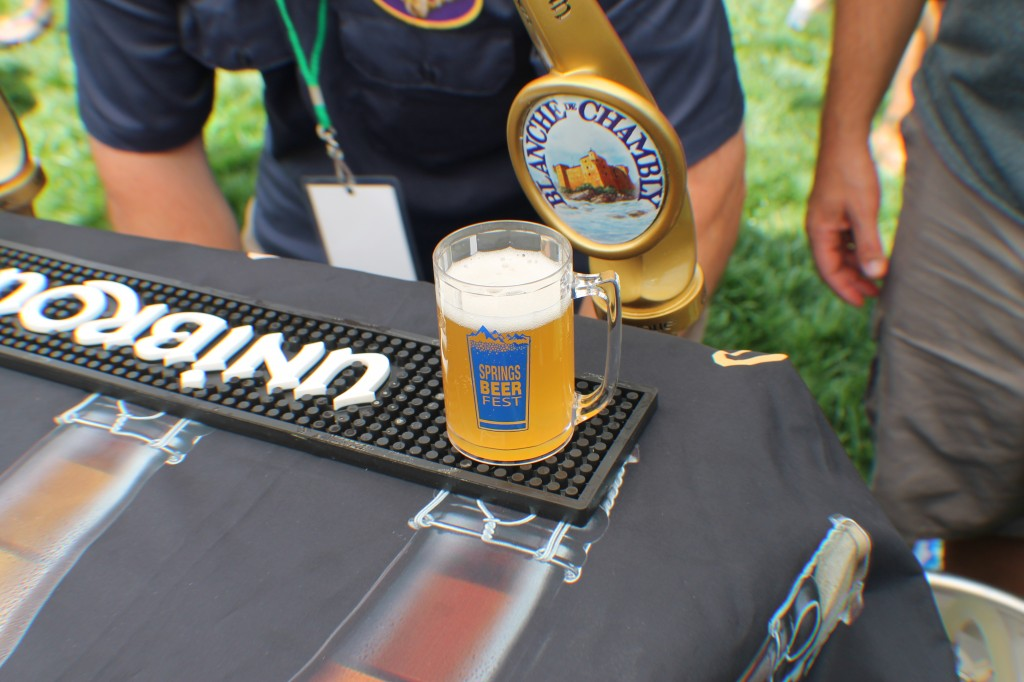 unibroue - springs beer fest 2014 - dbb