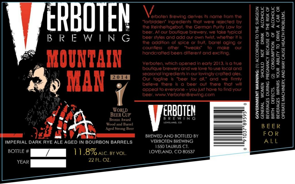 verboten mountain man release - dbb - 08-16-14