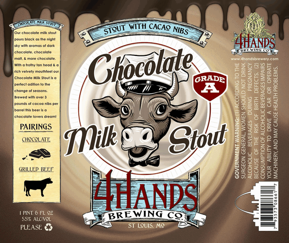 4 Hands Chocolate Milk Stout