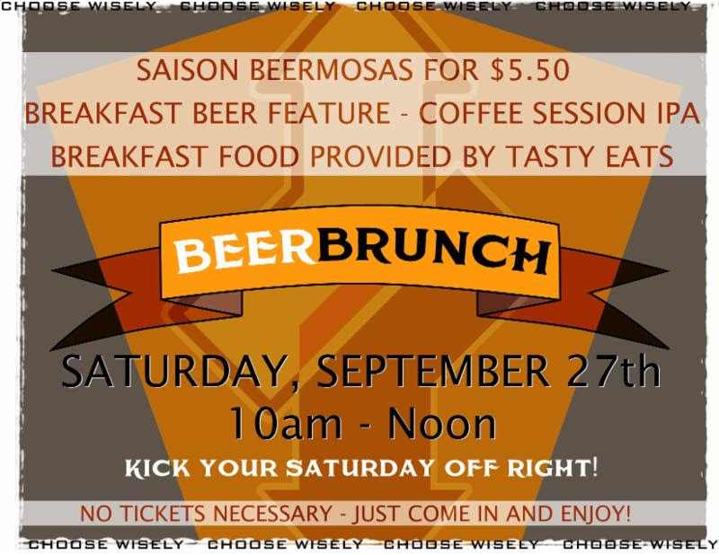 big choice - beer brunch - DBB - 09-27-14