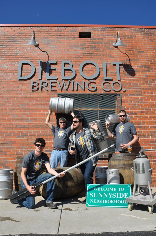 diebolt brewing co one year anniversary - dbb - 09-2014