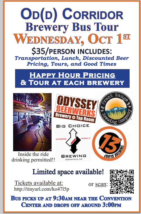 od(d) corridor brewery bus tour - gabf 2014 - dbb - 10-01-14