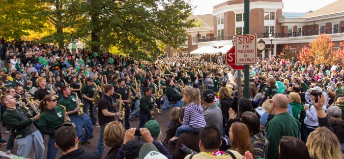 Ohio University Homecoming 2012