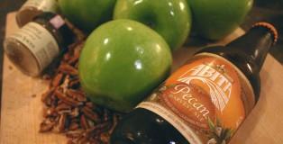 Drink and Spoon Pecan Caramel Apple Crisp