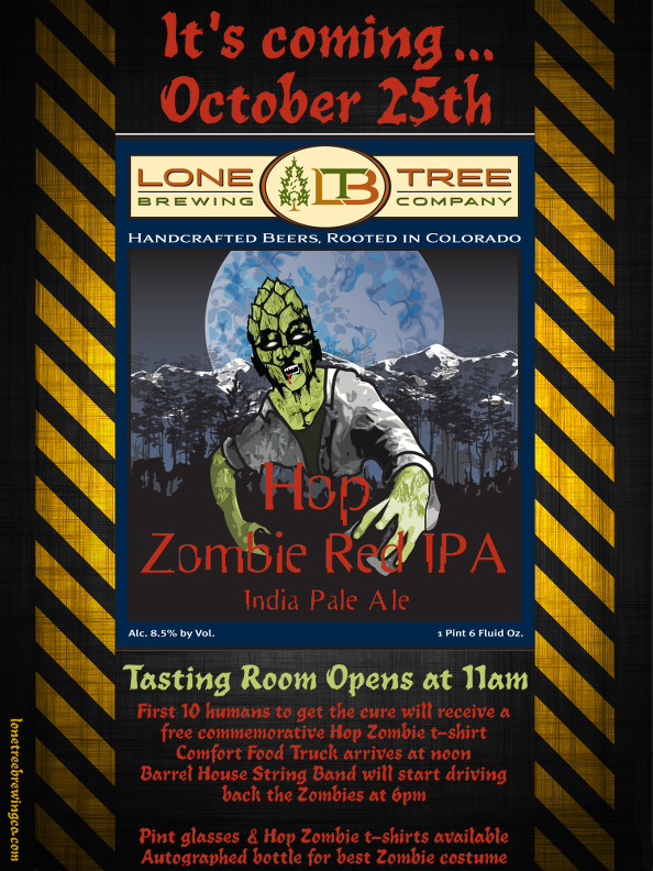 Lone Tree Brewing Co. - Hop Zombie Red IPA - dbb - 10-25-14