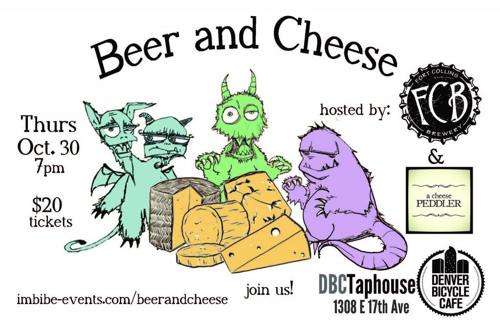 beer and cheese at DBC - dbb - 10-30-14