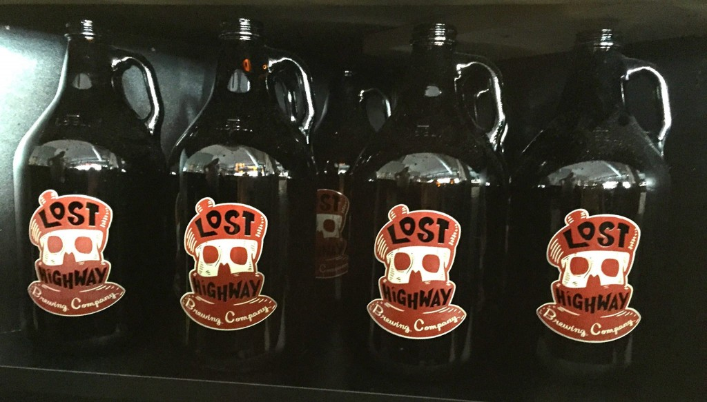 lost highway brewing co - growlers - dbb - 10-25-14