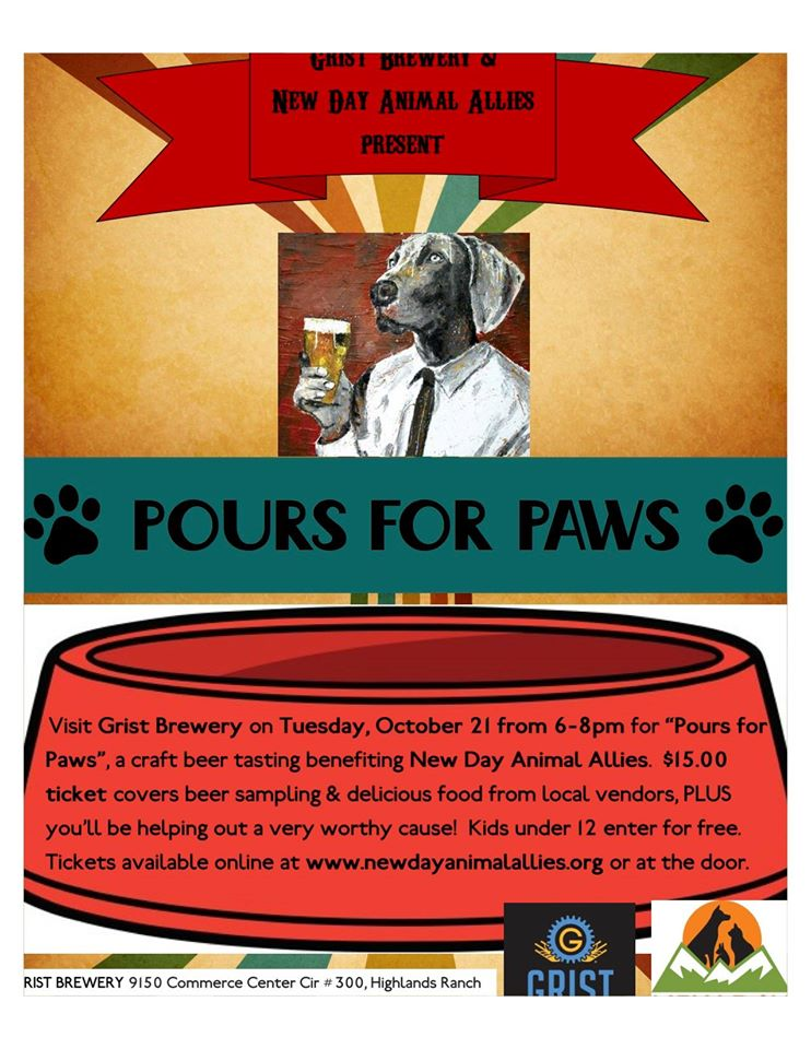 pours for paws - grist brewing - dbb - 10-17-14